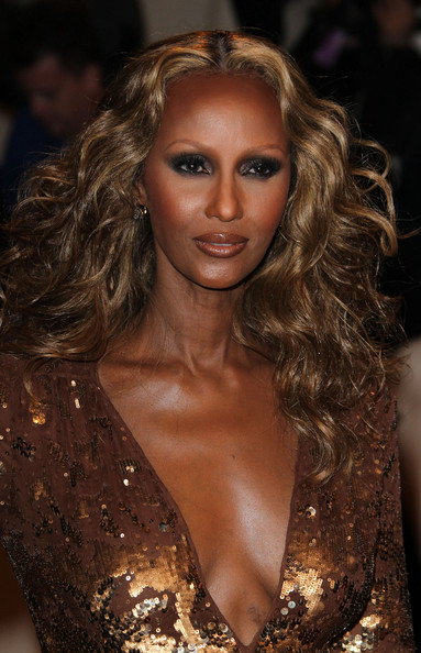 Iman at sixty in 2015