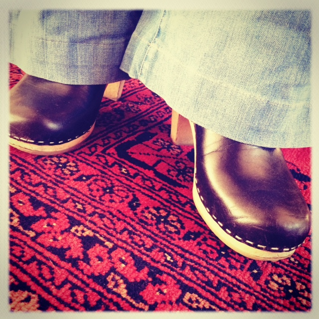 "My ""Love Story"" flares and a clog. Sometimes I am really dazed and confused."