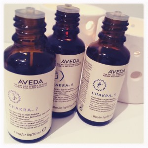 """Blended """"Chakra Oils"""" used in the treatment"""