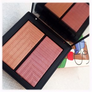 Dual intensity blush in Sexual Content - a sandy peach / soft raspberry combo