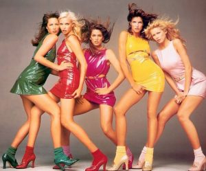 The Supermodels of the 1990s must have been among the first to use the new cleansers n'est pas?