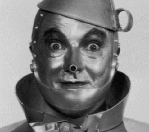 a picture of The Tin Man from the Wizard Of OZ