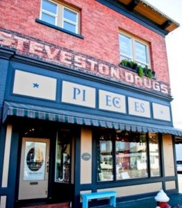 Photo of the Pieces store in Steveston
